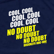 Brooklyn Nine-Nine No Doubt Men's Short Sleeve T-Shirt