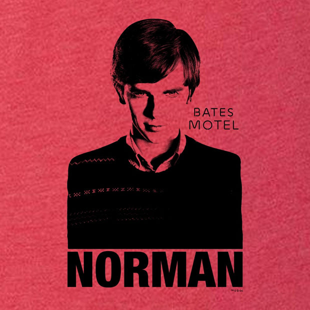 Bates Motel Norman Men's Tri-Blend Short Sleeve T-Shirt