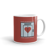 The Office Dunder Mifflin Valentine's Day White Mug