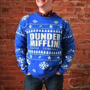 The Office Dunder Mifflin Ugly Christmas Sweater