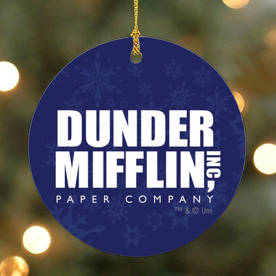 The Office Dunder Mifflin Ornament