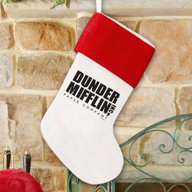 The Office Dunder Mifflin Stocking