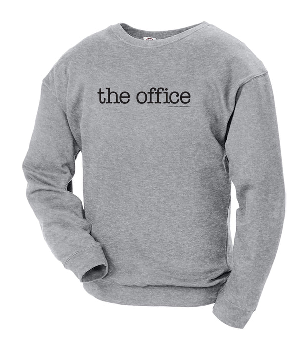 The Office Logo Crew Neck Sweatshirt