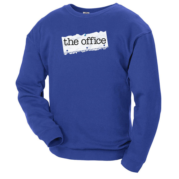 The Office Paper Logo Crew Neck Sweatshirt