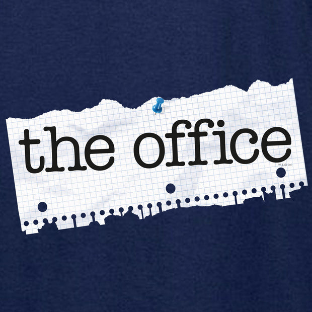The Office Paper Logo Hooded Sweatshirt