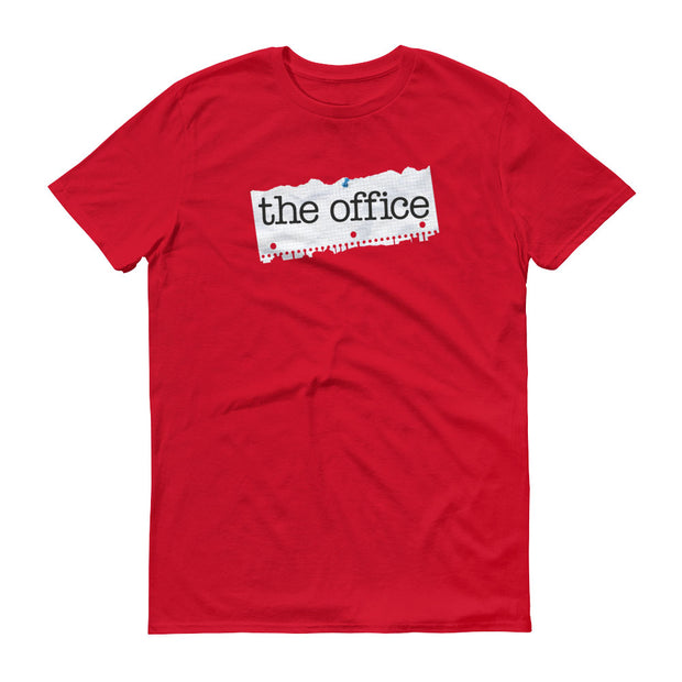 The Office Paper Logo Men's Short Sleeve T-Shirt