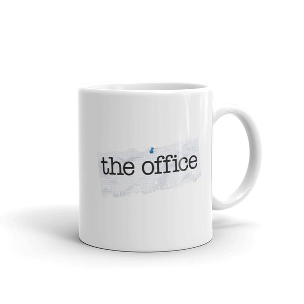 The Office Paper Logo White Mug