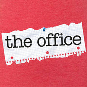 The Office Paper Logo Men's Tri-Blend Short Sleeve T-Shirt