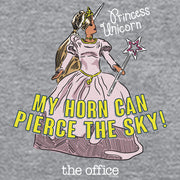 The Office Princess Unicorn  Hooded Sweatshirt