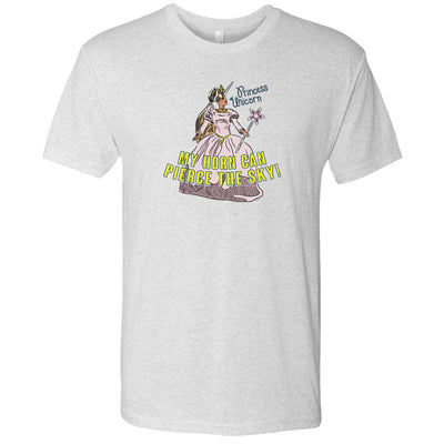 The Office Princess Unicorn  Men's Tri-Blend Short Sleeve T-Shirt
