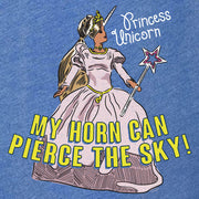 The Office Princess Unicorn Women's Tri-Blend Dolman T-Shirt