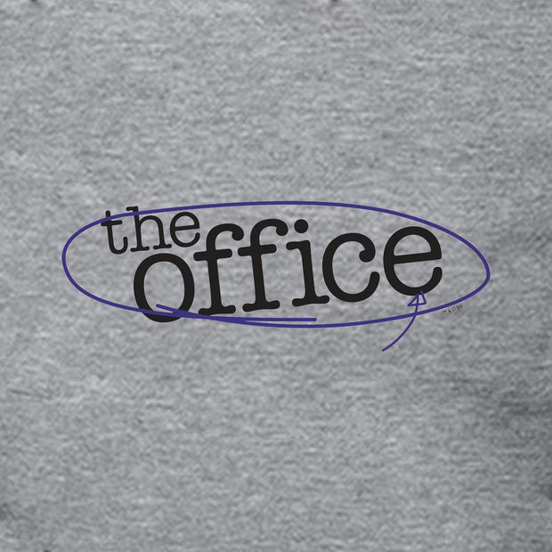 The Office Circled Logo Hooded Sweatshirt