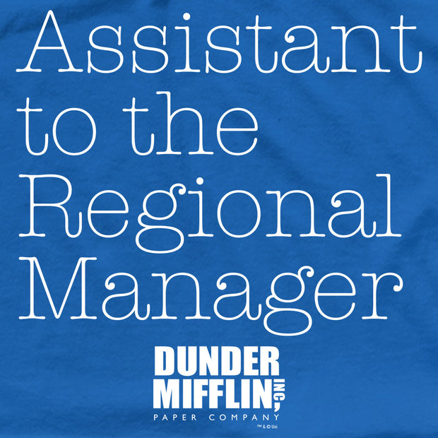 The Office Asst. Regional Mgr Men's Short Sleeve T-Shirt