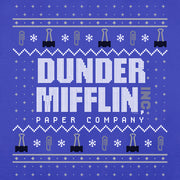 The Office Dunder Mifflin Holiday Women's Relaxed Scoop Neck T-Shirt