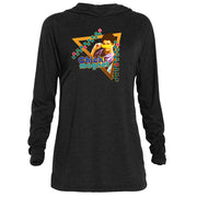 Saved By The Bell Chick Magnet Tri-Blend Raglan Hoodie