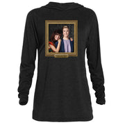 Saved By The Bell Relationship Goal Tri-Blend Raglan Hoodie
