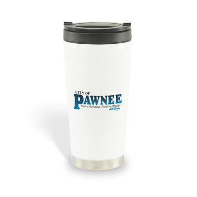 Parks and Recreation Pawnee Travel Mug
