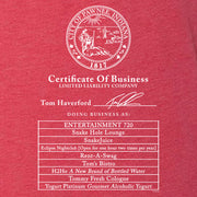 Parks and Recreation Certificate of Business Tri-Blend Tank Top