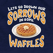 Parks and Recreation Drown Our Sorrows in Some Waffles Women's T-Shirt