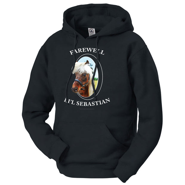 Parks and Recreation Farewell Li'l Sebastian Hooded Sweatshirt