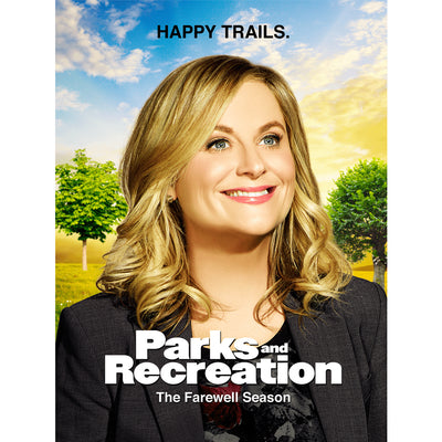 Parks and Recreation The Farewell Season Poster - 18x24