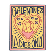 Parks and Recreation Galentine's Ladies Only White Mug