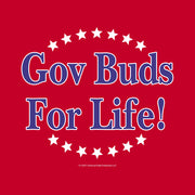 Parks and Recreation Gov Buds For  Life Ideal Racerback Tank