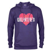 Parks and Recreation Happy Galentine's Day Lightweight Hooded Sweatshirt