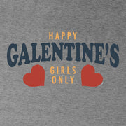 Parks and Recreation Happy Galentine's Girls Only Lightweight Hooded Sweatshirt