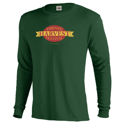 Parks and Recreation Pawnee Festival Men's Long Sleeve T-Shirt