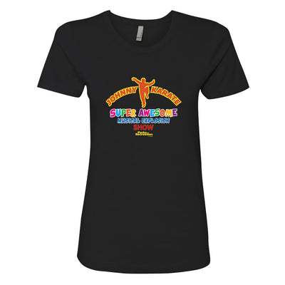 Parks and Recreation Johnny Karate Musical Explosion Show Women's T-Shirt