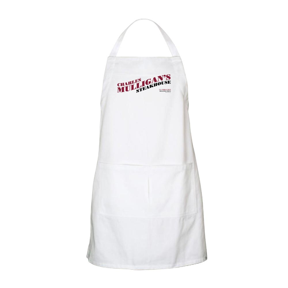 Parks and Recreation Charles Mulligan's Steakhouse Apron