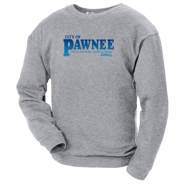 Parks and Recreation Pawnee Crew Neck Sweatshirt