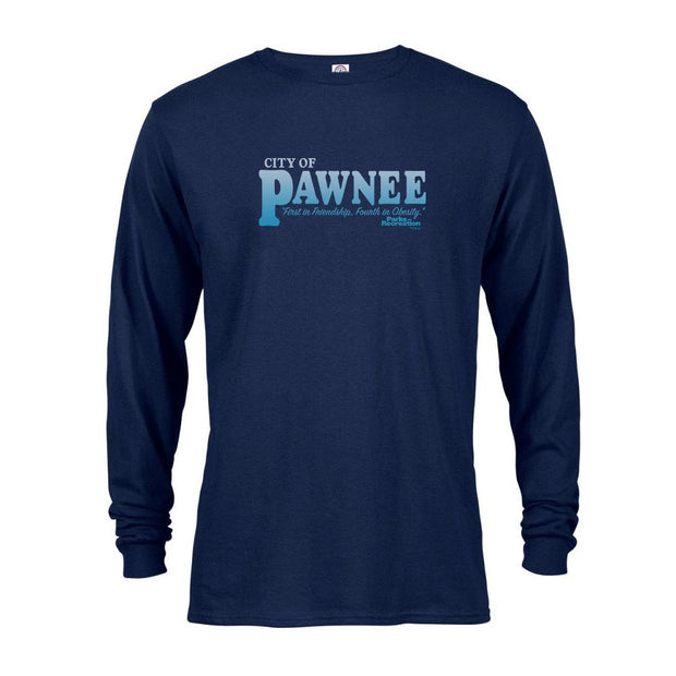 Parks and Recreation Pawnee Long Sleeve T-Shirt