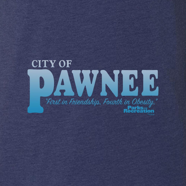 Parks and Recreation Pawnee Men's Tri-Blend Short Sleeve T-Shirt