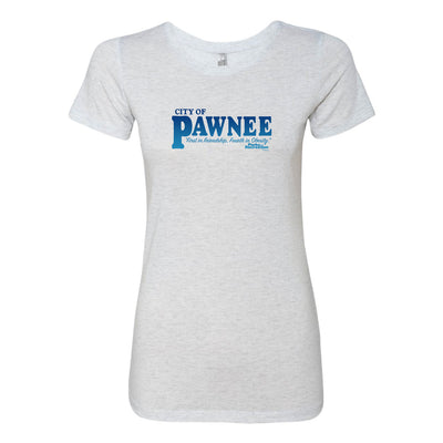 Parks and Recreation Pawnee Women's Tri-Blend Short Sleeve T-Shirt