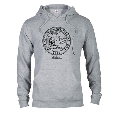 Parks and Recreation Pawnee Seal Hooded Sweatshirt