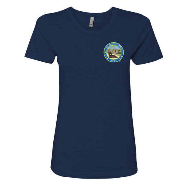 Parks and Recreation Pawnee Staff Women's Short Sleeve T-Shirt