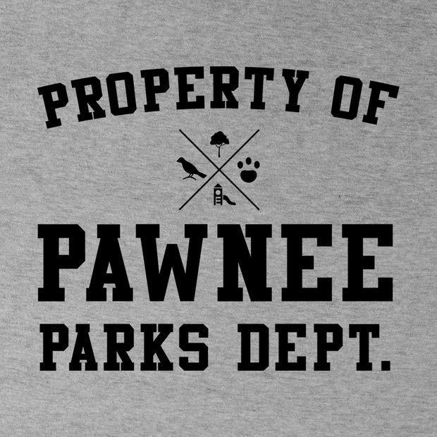 Parks and Recreation Property of Pawnee Crew Neck Sweatshirt