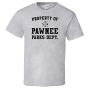 Parks and Recreation Property of Pawnee Men's Fitted Short Sleeve T-Shirt