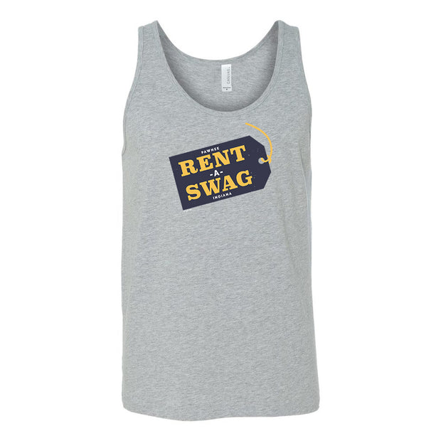 Parks and Recreation Rent-A-Swag Tri-Blend Tank Top
