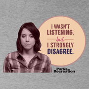 Parks and Recreation I Strongly Disagree Men's Short Sleeve T-Shirt