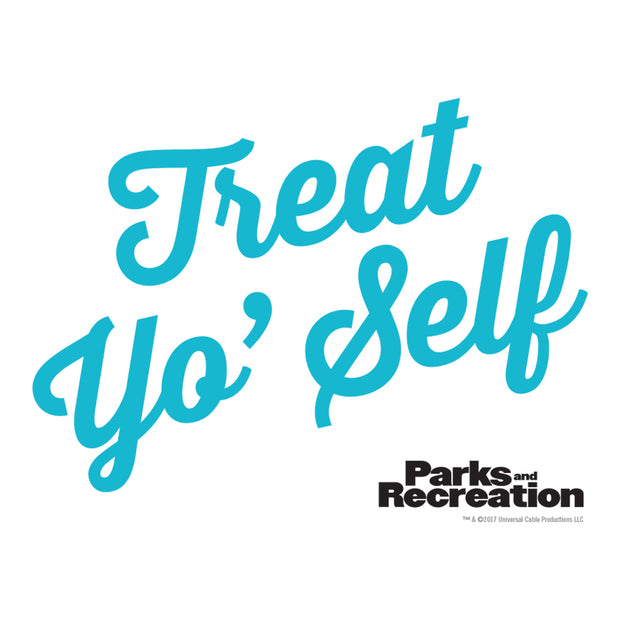 Parks And Recreation Treat Yo Self Stainless Steel Travel Mug