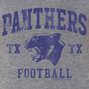 Friday Night Lights Panthers Men's Tri-Blend Short Sleeve T-Shirt