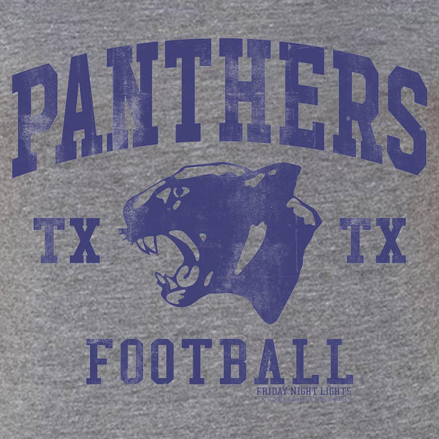 Friday Night Lights Panthers Women's Vintage Tri-Blend Short Sleeve T-Shirt