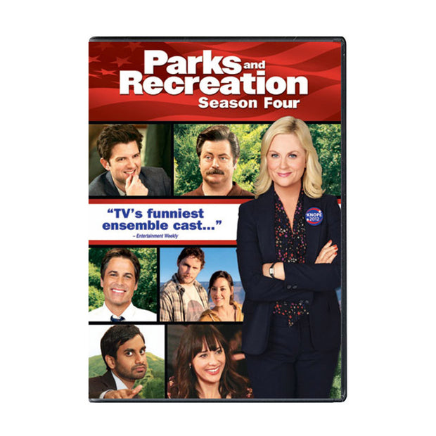 Parks and Recreation - Season 4 DVD