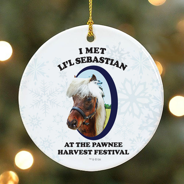 Parks and Recreation Li'l Sebastian Ornament