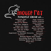 Parks and Recreation Mouse Rat Formerly Known As Women's Short Sleeve T-Shirt