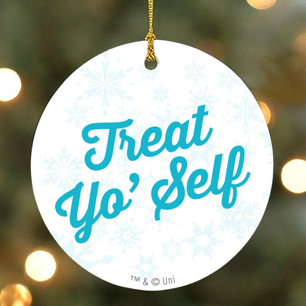 Parks and Recreation Treat Yo Self Ornament