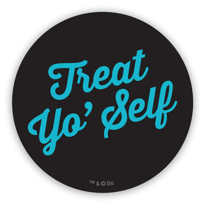 Parks and Recreation Treat Yo' Self 2 1/2 Stickers - 96 Pack